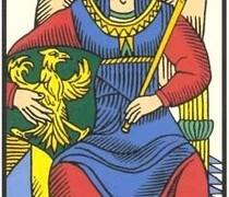 La Emperatriz – Tarot de Marsella