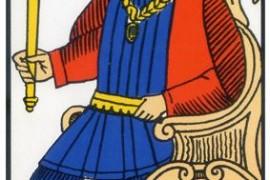 El Emperador – Tarot de Marsella