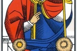 El Papa – Tarot de Marsella