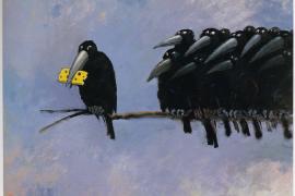 Raven soñando